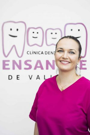 Claudia, Odontóloga de la Clínica Dental Ensanche de Vallecas