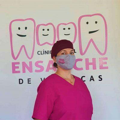 Odontóloga de la Clínica Dental Ensanche de Vallecas