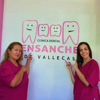 Equipo de la Clínica Dental Ensanche de Vallecas