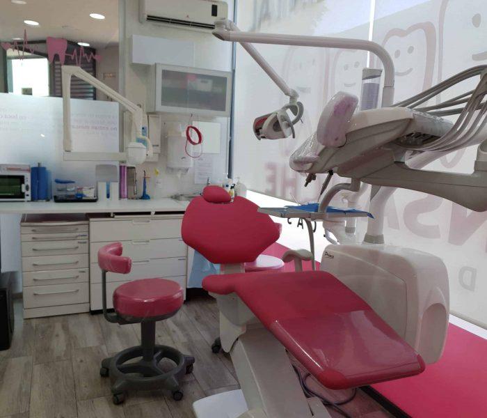 Instalaciones de la Clínica Dental Ensanche de Vallecas