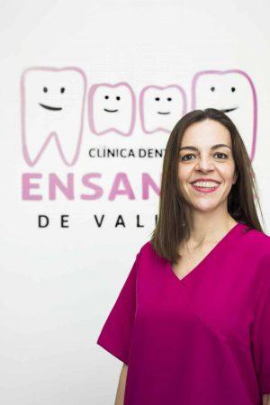 Lucía, Higienista de la Clínica Dental Ensanche de Vallecas