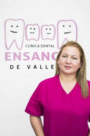 Sandra, Directora de la Clínica Dental Ensanche de Vallecas